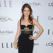 Anna Kendrick in Badgley Mischka