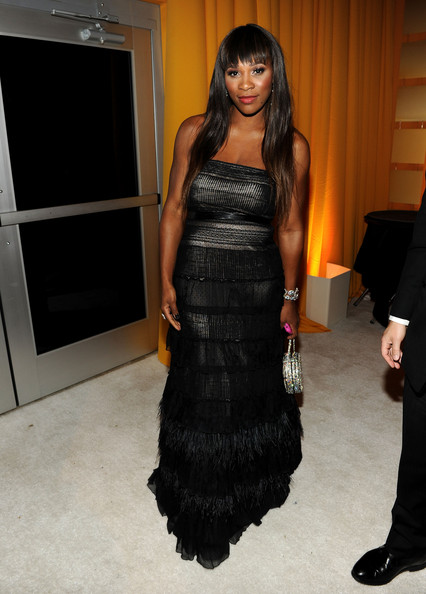 Serena+Williams in 19th Annual Elton John AIDS Foundation Academy Awards Viewing Party - Show