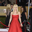 Kaley Cuoco Wore Romona Keveza at the 2013 SAG Awards