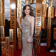 Vitalie Taittinger Wears Sparkling Champagne Gold at the 2013 SAG Awards