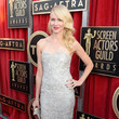 Naomi Watts Wore an Off-White Beaded Gown at the 2013 SAG Awards