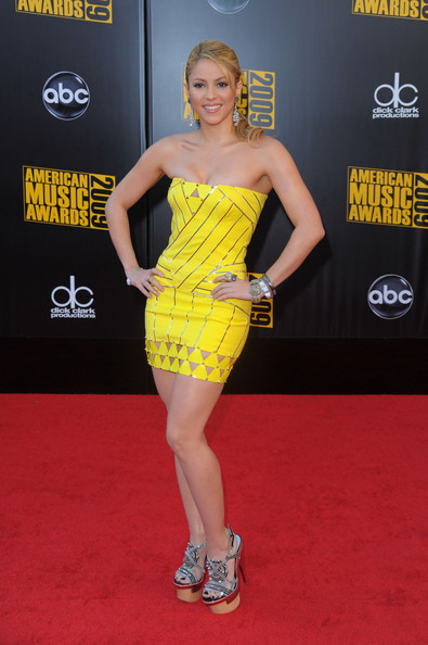 Seems shakira yellow dress