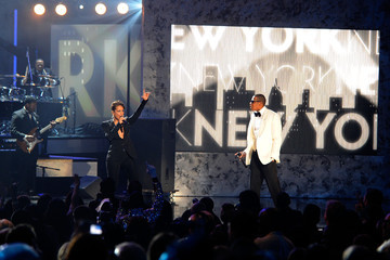 Alicia Keys Jay-Z 2009 American Music Awards - Show