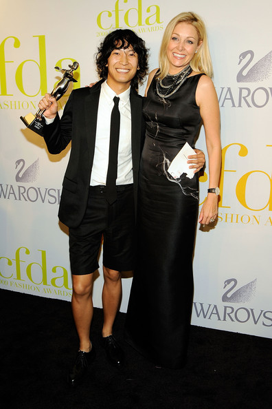 If you can rock a pair of dress shorts with a sport coat, well, congratulations Alexander Wang.