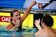 Ryan Lochte and Aaron Peirsol Photo