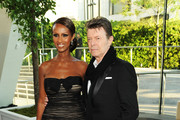 Iman and David Bowie Photo