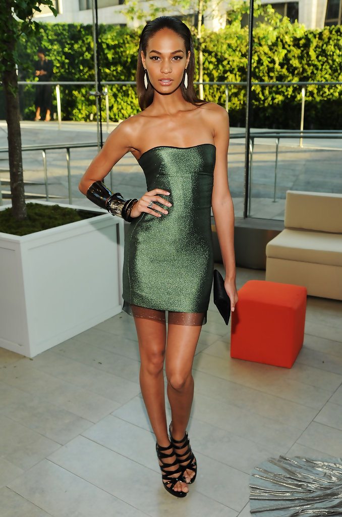 Model Joan Smalls attends the 2010 CFDA Fashion Awards at Alice Tully Hall, Lincoln Center on June 7, 2010 in New York City.