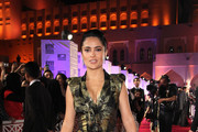 Actress Salma Hayek attends the Opening Night Gala during the 2010 Doha Tribeca Film Festival held at the Katara Opera House  on October 26, 2010 in Doha, Qatar.