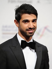 Abdulla Al Kaabi rocked a sleek bowtie at the International Film Festival.