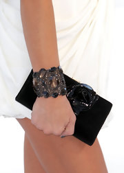 Ashley Greene showed off a sparkling bangle bracelet at the MTV Video Music Awards.