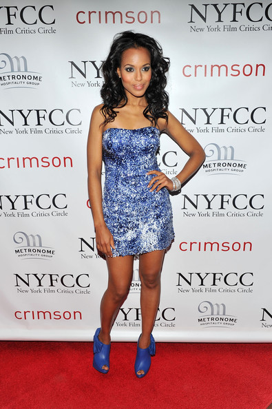 More Pics of Kerry Washington Cutout Boots (1 of 5) - Kerry Washington Lookbook - StyleBistro