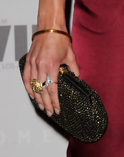 Julie Benz rocked a sparkling clutch while hitting an event in LA.
