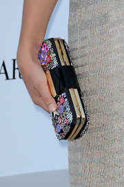 Margherita Missoni carried a charming multicolored sequined clutch when she attended the 2010 amfAR Cinema Against AIDS Gala.