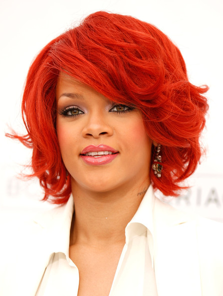 More Pics of Rihanna B.o.B (1 of 18) - Short Hairstyles Lookbook - StyleBistro