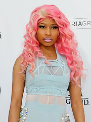 Nicki Minaj was all pretty pastel hues at the 2011 Billboard Music Awards.