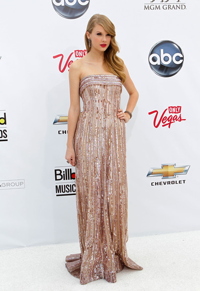 Blush Sequins by Elie Saab at the 2011 Billboard Music Awards