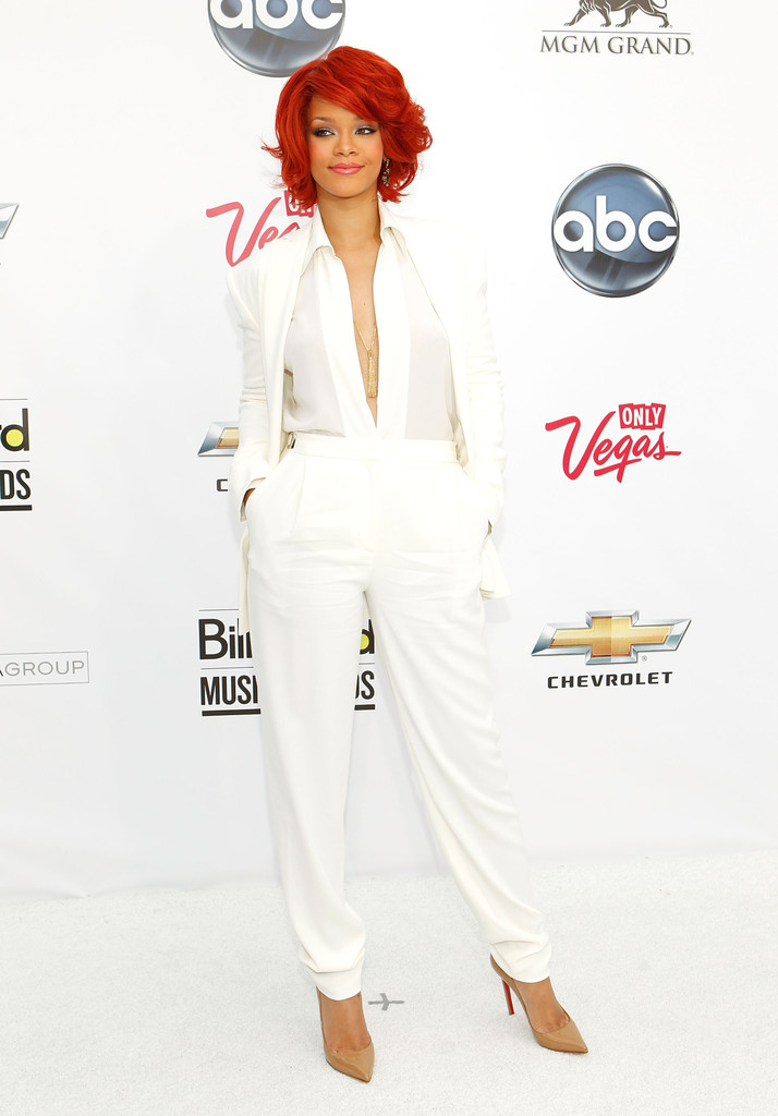 Rihanna in Max Azria - Best and Worst Dressed at the 2011 ...
