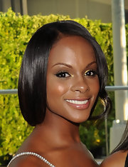 Tika Sumpter wore a lovely loose updo at the 2011 CFDA Fashion Awards.