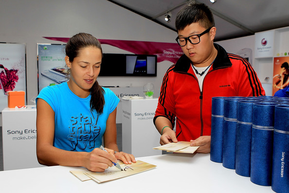 More Pics of Ana Ivanovic Sun Visor (1 of 17) - Sun Visor Lookbook - StyleBistro