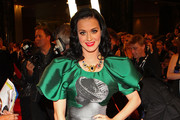 Singer Katy Perry arrives on the red carpet ahead of the 2011 Logie Awards at Crown Palladium on May 1, 2011 in Melbourne, Australia.