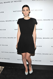 Rooney Mara looked refined in a black cocktail dress for the National Board of Review Awards.