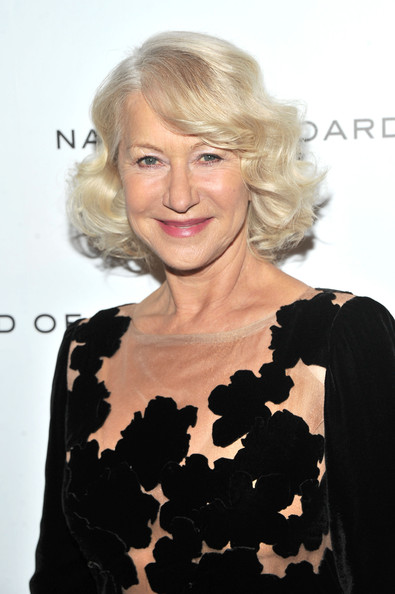 More Pics of Helen Mirren Evening Dress (1 of 6) - Helen Mirren Lookbook - StyleBistro