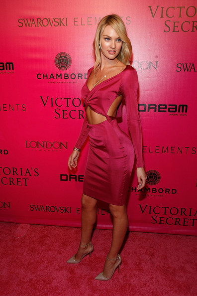 Candice+Swanepoel in 2011 Victoria's Secret Fashion Show - After Party
