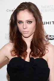 Coco Rocha did a super sexy smoky eye and ultra pale lip at the 2011 Whitney Museum of America Art studio party.