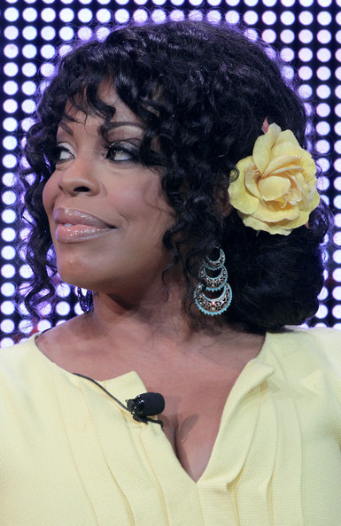 More Pics of Niecy Nash Chignon (1 of 11) - Chignon Lookbook - StyleBistro