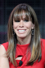 Melissa rocked sleek hair and long bangs at the 2011 WCA Tour in Pasandena, California.