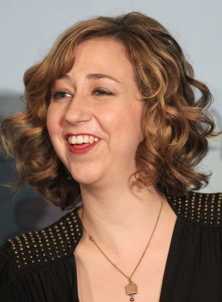 More Pics of Kristen Schaal Curled Out Bob (1 of 5) - Short Hairstyles Lookbook - StyleBistro [hair,face,hairstyle,chin,blond,eyebrow,layered hair,lip,forehead,smile,kristen schaal,bob burgers,portion,langham hotel,pasadena,california,winter tca,fox broadcasting company,panel,press tour]
