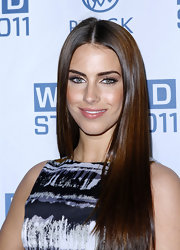 Jessica Lowndes added a touch of glitz with glittery metallic gold eyeshadow at the 2011 Wired Store Opening Night Party.
