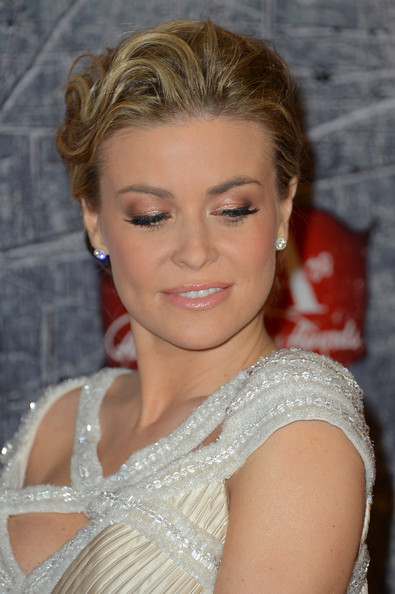 More Pics of Carmen Electra Twisted Bun (1 of 30) - Carmen Electra Lookbook - StyleBistro