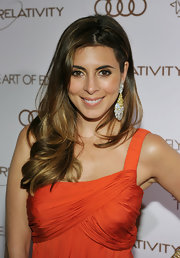 Jamie-Lynn Sigler attended the 2012 Art of Elysium Heaven Gala wearing her tresses in an ultra-casual style.