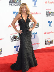 The texturing in Aylin Mujica's gown was amazingly interesting.