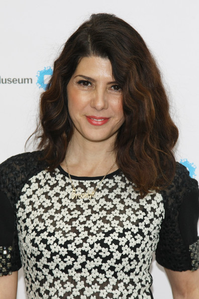 More Pics of Marisa Tomei Long Wavy Cut (1 of 11) - Marisa Tomei Lookbook - StyleBistro