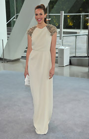 Mandy Moore wore one of her favorite designers to the CFDA Fashion Awards.