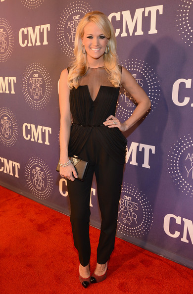More Pics of Carrie Underwood Jumpsuit (1 of 5) - Carrie Underwood Lookbook - StyleBistro
