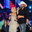 Kristen Bell and Toby Keith