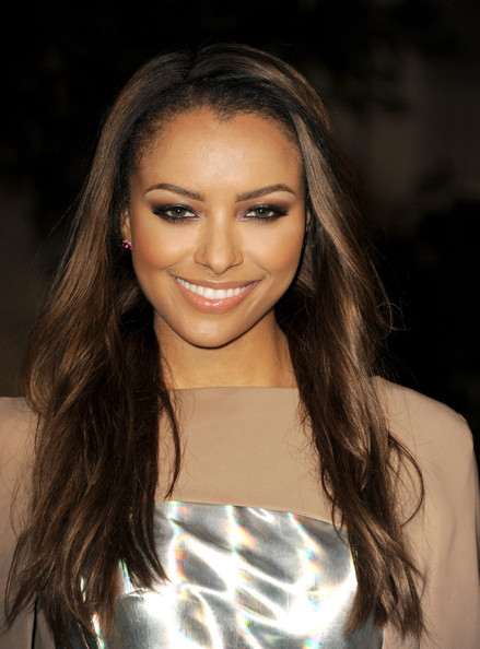 More Pics of Kat Graham Long Wavy Cut (1 of 10) - Long Wavy Cut Lookbook - StyleBistro
