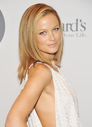 Carolyn Murphy wore her ultra-polished locks in a slightly layered long bob while attending the 2012 FIT Educational Development Fund Benefit Gala.
