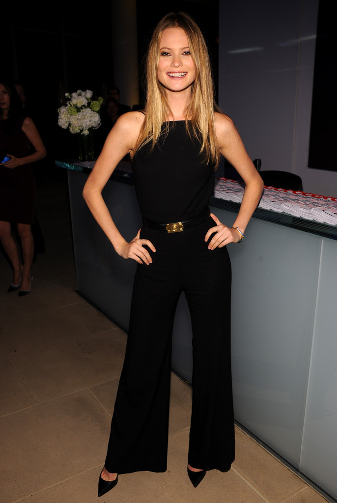 Model Behati Prinsloo attends the 2012 GQ Gentlemen's Ball presented by LG, Movado, and Nautica on October 24, 2012 in New York City.
