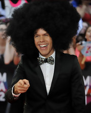 Perez Hilton glammed it up with with a bejeweled bowtie at the 2012 MuchMusic Video Awards.