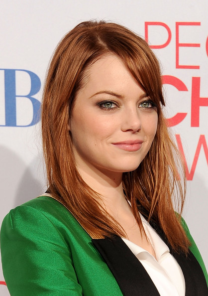 More Pics of Emma Stone Tuxedo (1 of 12) - Emma Stone Lookbook - StyleBistro