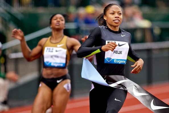 More Pics of Allyson Felix Ponytail (1 of 2) - Allyson Felix Lookbook - StyleBistro