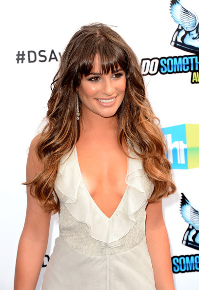 More Pics of Lea Michele Ombre Hair (2 of 25) - Lea Michele Lookbook - StyleBistro