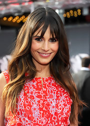 Jordana Brewster arrived at the premiere of the 40th anniversary restoration of 'Cabaret' wearing her ultra-long locks in windblown layers with choppy bangs.
