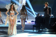 Cameron Russell and Bruno Mars Photo