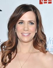 Kristen Wiig attended the 2012 Writers Guild Awards wearing her hair in long layered curls.