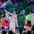 Print Umbrella Lookbook: Katy Perry wearing Print Umbrella (2 of 58). Katy Perry teamed a printed lavender umbrella with her kimono for her performance at the 2013 American Music Awards.